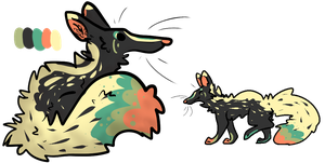 Canine Design+art for points CLOSED by Pineaapple