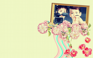 Jongkey wallpaper by sparklingwater