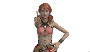 Final Fantasy XIII - Vanille Render 1 by SilverMoonCrystal