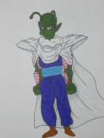 Piccolo: Simpsons style by Ram3nLuvr666