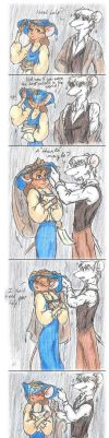 Under the rain by Sweetly-Mad
