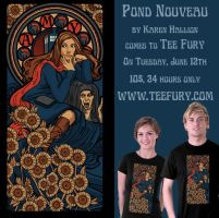 Pond Nouveau on Tee Fury by khallion