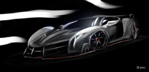 Veneno Speed Painting by Adry53