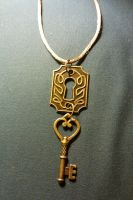 Keyhole Necklace by Linarien