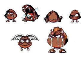 Goomba Re designs by abthomas1982