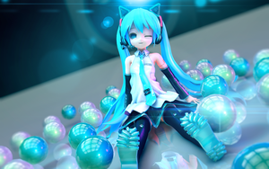 Little Miku by RiStarr
