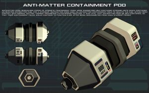 Antimatter Containment Pod Tech Readout by unusualsuspex