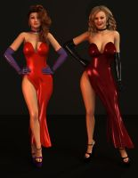 Tiffany and Vicky: Who Wears It Best 2 by 007Fanatic
