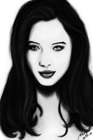 Portrait: Anna Popplewell by artsnletters