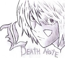 Death Note L by Tehlildevil