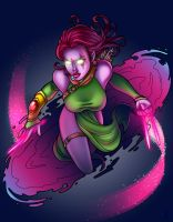 blink colored by angelinme220 by JamieFayX