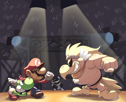 Paper Mario TTYD AGDQ 2016 by happydoodle
