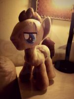 Dr Whooves Custom Plushie by tonksiford