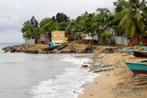 Fishing village in Sao Tome by MarcZingg