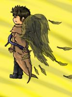 Castiel by TheConsultingArtist1
