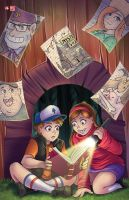Gravity Falls by TyrineCarver