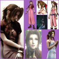 Aerith Group by JapaneseRedWolf