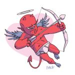 Devil Cupid by ballsybalsman