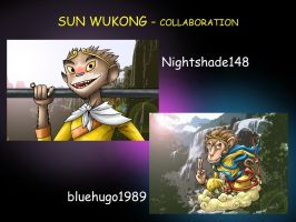 Sun Wukong Collab by Nighty and bluehugo Endpic by blue-hugo
