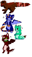 Adoptables! -CLOSED- by CollectionOfWhiskers
