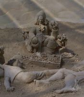 sand sculpture IV by soho-power