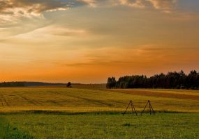 Michigan Farmland by Bebop69