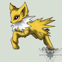 oOnyaOo: Jolteon by AdoptaChirimo