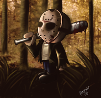 Chibi Jason by RavenNoodle