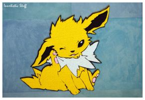Foamy Jolteon by inu-chan-free