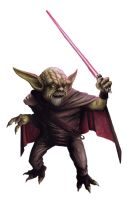 Sith Lord Yoda by dsb