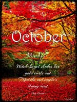 Welcome October by cjlutje