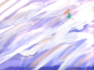 stand on the clouds