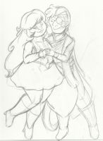 Rose-Apple and Nero_Part 1 by InkBottleInc