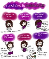 My Reactions to Sherlock by Vanilla-Fireflies