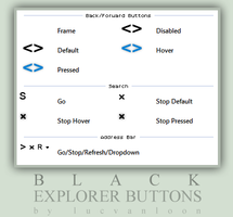 BLACK explorer buttons by lucvanloon