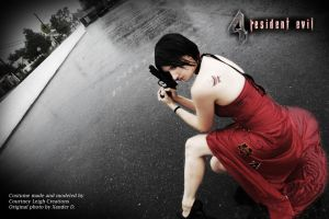 Resident Evil 4 Ada Wong Cosplay by CLeigh-Cosplay