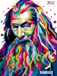 Gandalf in WPAP by ekoabiyudha