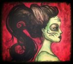 Sugar Skull Maiden by Exploding-Kittens