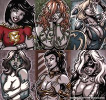 French Sketch Cards 5 by gb2k