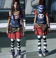 ME3 Gaige Outfit by nameislooney