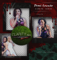 Pack png 719: Demi Lovato by Clarity-pngs