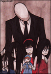 Resubmission: Slendermans favourite little girls by Cageyshick05
