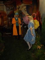 Alice in Wonderland exhibit 13 by ChristineFrollophile