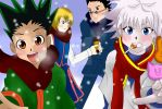 Hunter x Hunter by Gina1991
