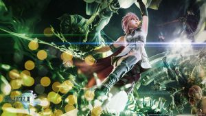 Final Fantasy XIII wallpaper by De-monVarela
