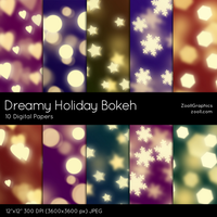 Dreamy Holiday Bokeh by MysticEmma