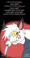 Knife Fight by Metal-Kitty