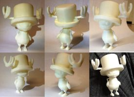 Tony Tony Chopper - printed 3D by Athey