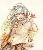 Autumn doodle by DesignsBySloan