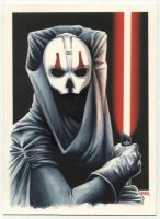 Darth Nihilus Commissioned Painting by Erik-Maell